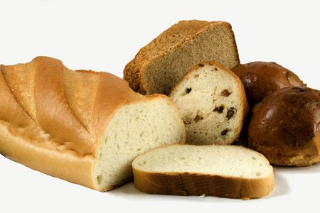 Assortment of bakery goods Stock Photo - 3997337