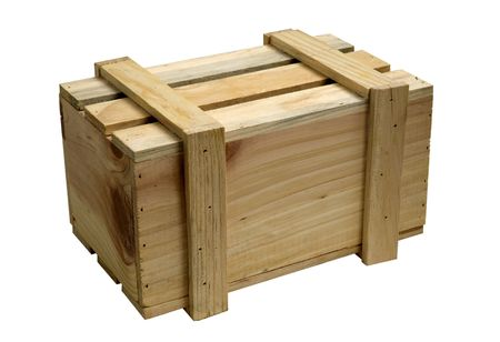 wooden box for packing of different things Stock Photo - 4124455