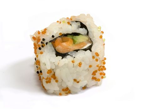 crusted: roll of  Stock Photo
