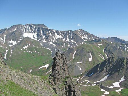 kamchatka: Montagne e vulcani della Kam?atka Archivio Fotografico