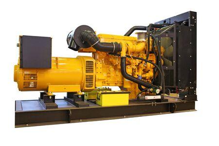 Stand-by generator, electric power plant, geïsoleerd