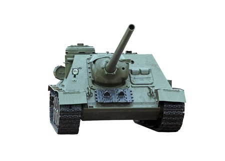 artillery: isolated self-propelled armored artillery howitzer SU100