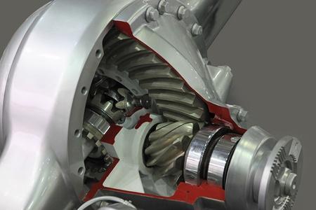 démonstration de la section efficace différentielle camions roues motrices