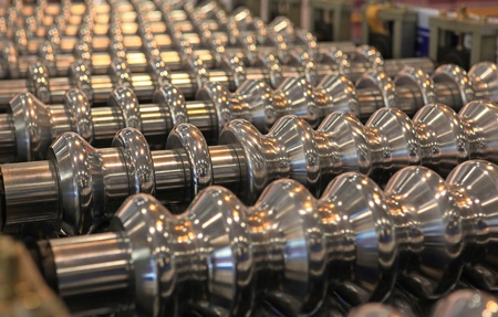 Rollers for hire of sheet metal in a corrugated sheet Stock Photo - 11560017