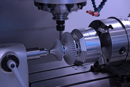 Traitement d'un détail difficile à partir de métal d'un moulin sur la machine
