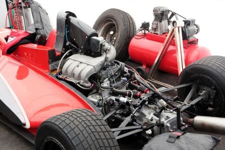 horsepower: Precision muscle car engine that produce intense horsepower and incredible speed.