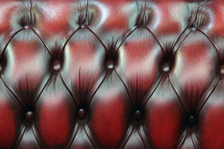 Red-black upholstery leather pattern background  photo