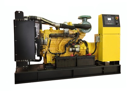 diesel generator: Standby generator, electric power plant, isolated