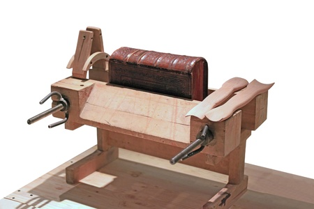 book binding: Old Equipment Workshop for Binding and Restoration of Books