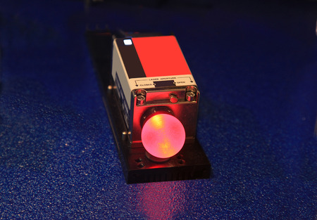 coherent: The Red  Light Of The Laboratory  Laser