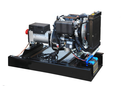 petrol powered: Mobile electric power generator for emergency situations
