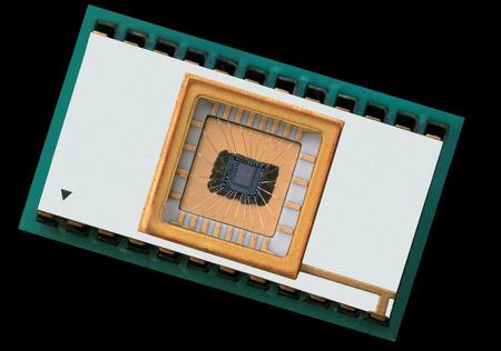 rewritable: EEPROM detail of rewritable memory chip