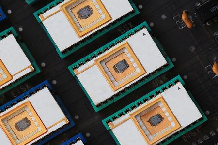 rewritable: EEPROM detail of rewritable memory chips