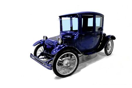 twentieth: Vintage electric car U.S. production of 20s years of the twentieth century