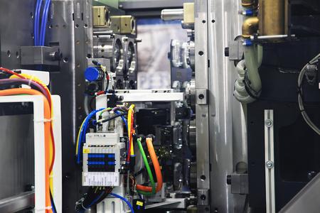 inyeccion: descarga automática del molde de la máquina de moldeo por inyección