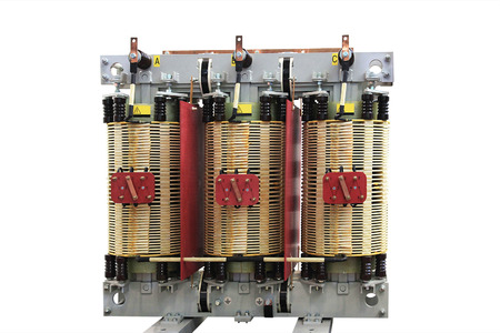 three phase: The voltage transformer power three-phase electric network