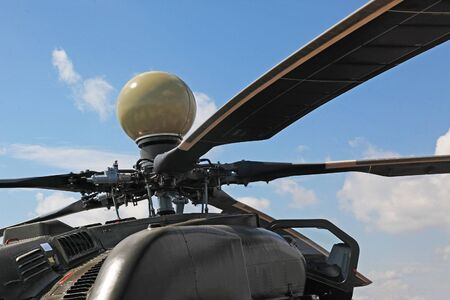 russian attack helicopter Mi 28 is equipped with a radar of the circular review Editorial