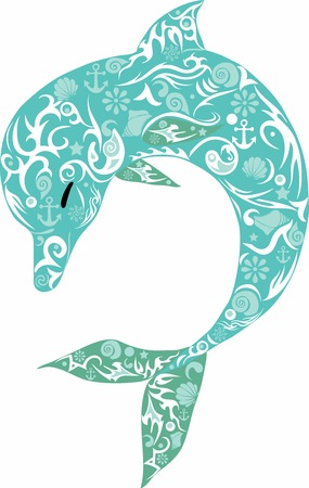 Delfin turkusowe