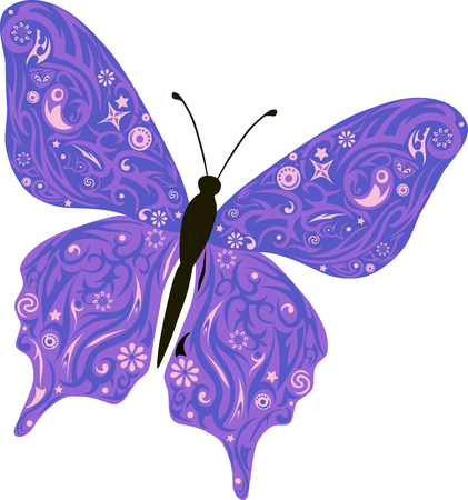 chitin: The butterfly flies, a pattern on wings, the animal with drawing, an illustration of a moth, mol with design, wildlife, a decor with flowers, drawing of an insect decorated stole, a small small insect, Illustration