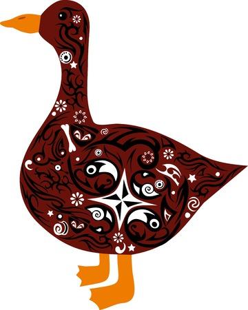 expense: goose Illustration