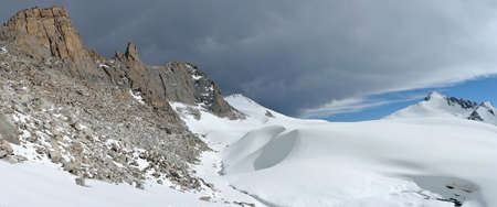 Tien Shan mountains in Kazakhstan Central Asia Stock Photo