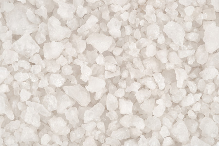 Sea salt as background texture