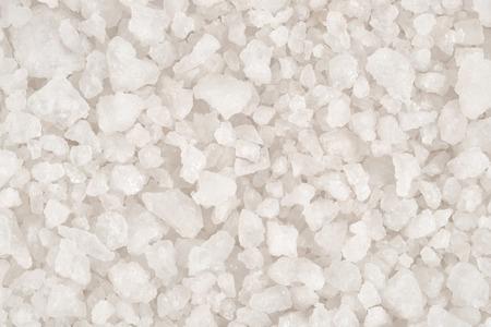 coarse: Sea salt as background texture