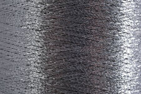 Spoel van draad macro achtergrond textuur Stockfoto