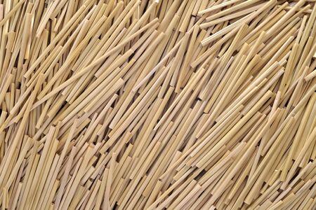 ruminate: Dried straw stems texture background Stock Photo