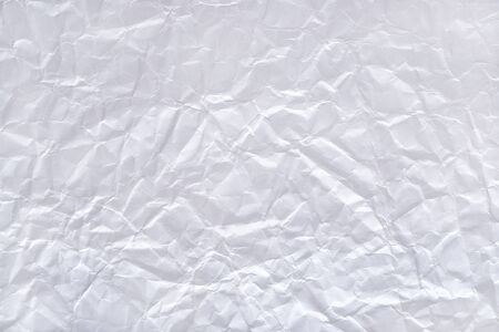 creasy: Texture of the white crushed paper