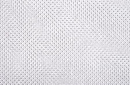 White nonwoven fabric texture background Foto de archivo