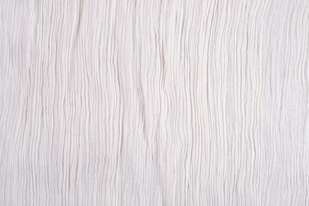 pleat: Crumpled white fabric as background texture
