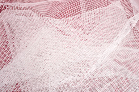 airy texture: White tulle texture close up