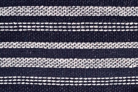 hand woven: Striped hand woven fabric for background