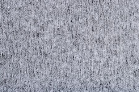 White nonwoven fabric texture background Imagens