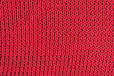 tricot: Red stockinet as background texture