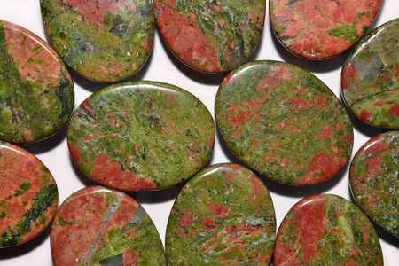 stoney: Colorful stones close up as background texture
