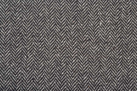 Herringbone tweed wool fabric as texture