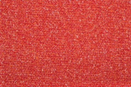 Orange tweed wool fabric as texture