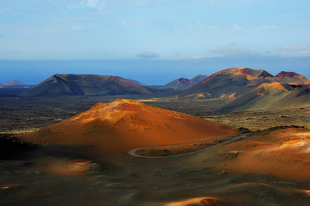 Fire Mountains National Park Timanfaya Lanzarote Spain