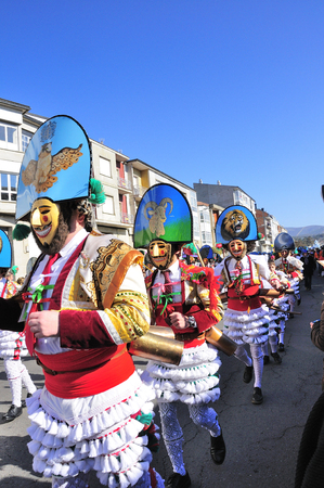 Carnaval Verin en Galice Espagne l'un des plus anciens dans le monde Banque d'images - 51477389