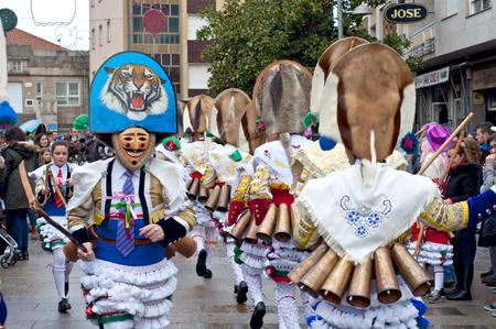 Carnaval Espagne Galicia Verin dans l'une des plus anciennes dans le monde Banque d'images - 52785928