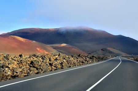 timanfaya: Fire Mountains National Park Timanfaya Lanzarote Spain