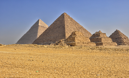 egyptian pyramids: Egyptian pyramids in Giza.