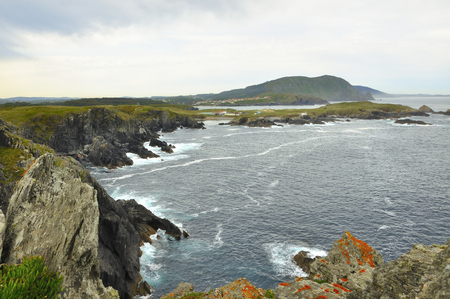Views of the coast of death in Valdovi?o is a municipality of the autonomous community of Galicia