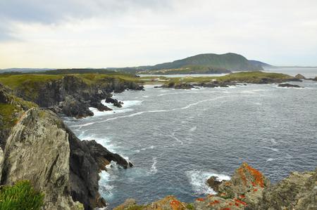 Vues de la côte de la mort à Valdovi? O est une municipalité de la communauté autonome de Galice