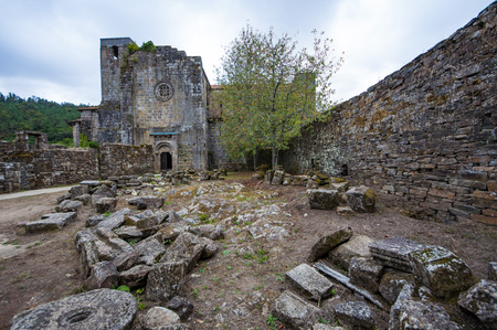 Monastery of The Carboeiros St Lawrence is a former Benedictine monastery in ruins placed in galicia spain