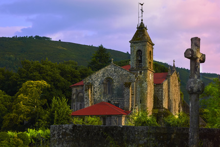 Monastery of Santa María de Melón is a catholic monastery located in the municipality of Melon in Ourense Spain