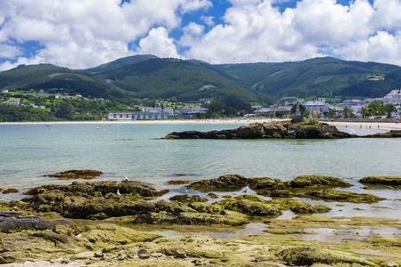 Covas beach located in ovas in the municipality of viveiro in lugo galicia spain