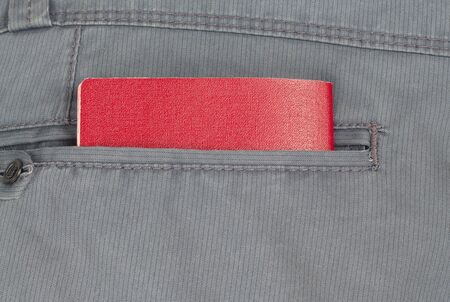 ides: passport in the back pocket of your pants